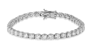 18K Diamond Classic Bracelet 10.60 CT FSI