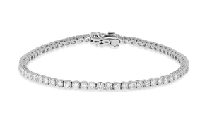 18K Diamond Tiger Bracelet 6.18 CT FSI