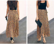 Load image into Gallery viewer, Simran Polka Dot Print Long Maxi Skirt