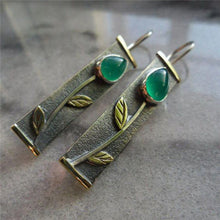 Load image into Gallery viewer, Vintage Geometric Long Hollow Metal Bohemian Earrings - bohemian earth