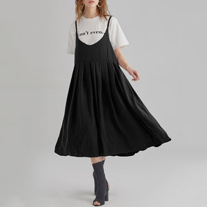 Brenda Spaghetti Strap V-neck casual sundress