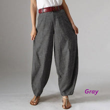 Load image into Gallery viewer, Vintage Casual Baggy Harem Oversized Pants Palazzo - bohemian earth