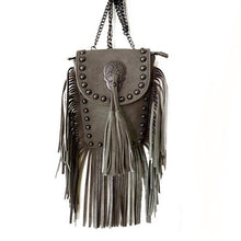 Load image into Gallery viewer, Vintage Bohemian Fringe Crossbody Bag