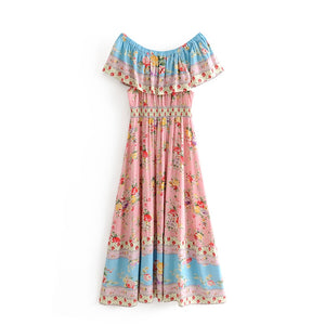 Chiara Bohemian Hippie chic Dress