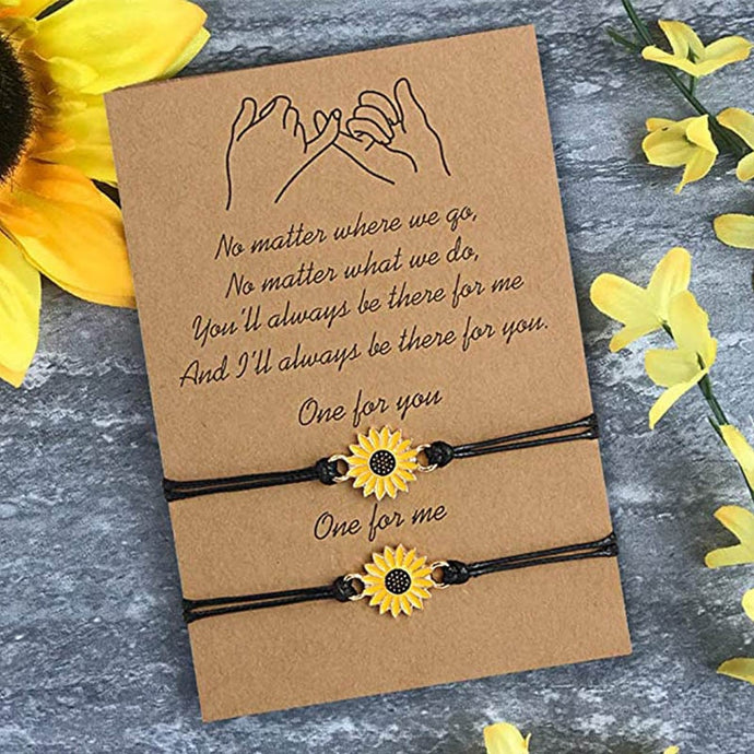 Sunflower Wish Bracelet