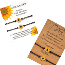 Load image into Gallery viewer, Sunflower Wish Bracelet