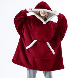 Over-sized Hoodies Fleece Sweatshirts