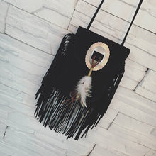 Load image into Gallery viewer, Bohemian Fringe Messenger Tassel Bag - bohemian earth
