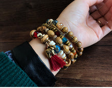Load image into Gallery viewer, Boho Multilayer Beads Charm Vintage Bracelets - bohemian earth