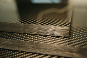 "Carbon fiber composite sheets up to 1/2"" (12.7mm)"