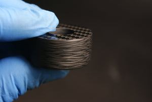 Carbon Fiber ring blanks, perfect base for jewelers and ring makers
