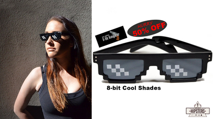 50% OFF 8-bit Gangster Shades