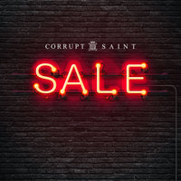 Corrupt Saint men's clothing sale