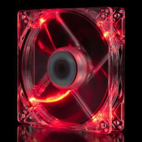 120Mm Red Led Case Fan 4 Pin Molex - Case Fan