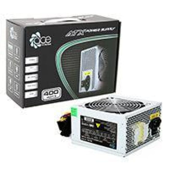 Ace 400W Grey Psu 12Cm Fan Sata 24-Pin Model 400W