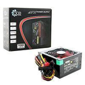 Ace 700W Br Black Psu With 12Cm Red Fan & Pfc