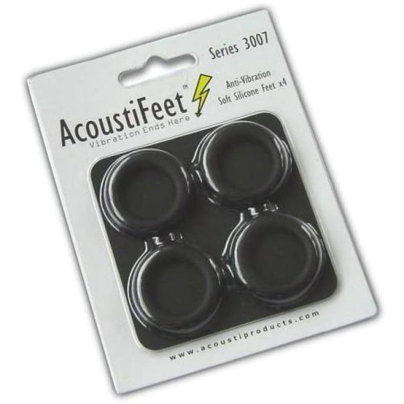 Acousti Acoustifeet Soft Anti-Vibration Feet Acf3007-20B - Case Accessories