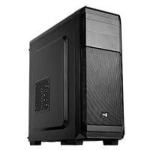 Aerocool Aero 300 Black Mid Tower Case With No Side Window