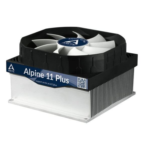 Arctic Alpine 11 Plus Cpu Processor Heatsink & Fan For Intel Sockets - Cpu Cooler
