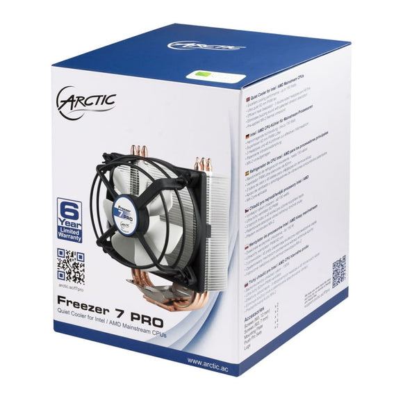 Arctic Freezer 7 Pro R2 Heatsink & Fan Intel & Amd Sockets Cpu Processor - Cpu Cooler