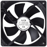 Avp Case Fan 12Cm Black Fan 3+4 Pin Connector - Case Fan