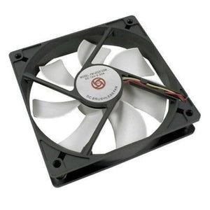Avp Case Fan 12Cm White Fan 3+4 Pin Connector - Case Fan