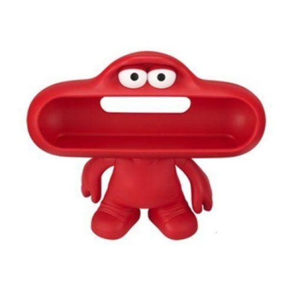 Beats By Dre Pill Dude Character Wireless Speaker Stand Dock - Red - Speakers