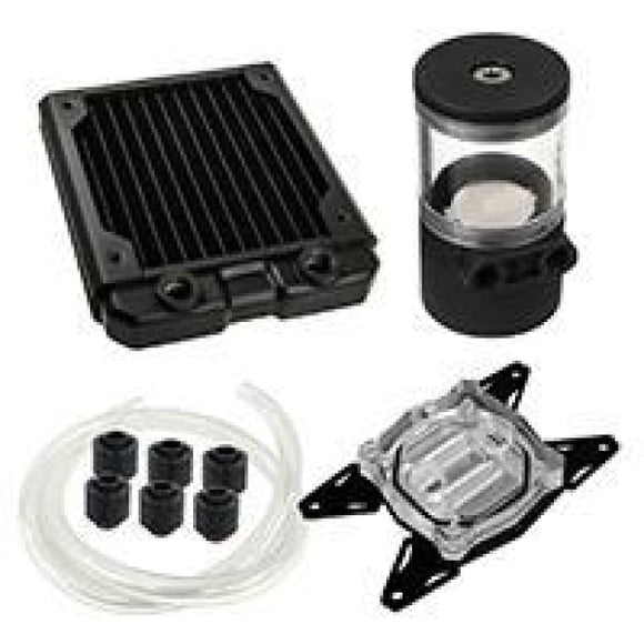 Black Ice 120Gts Professional Water Cooling Kit For Amd