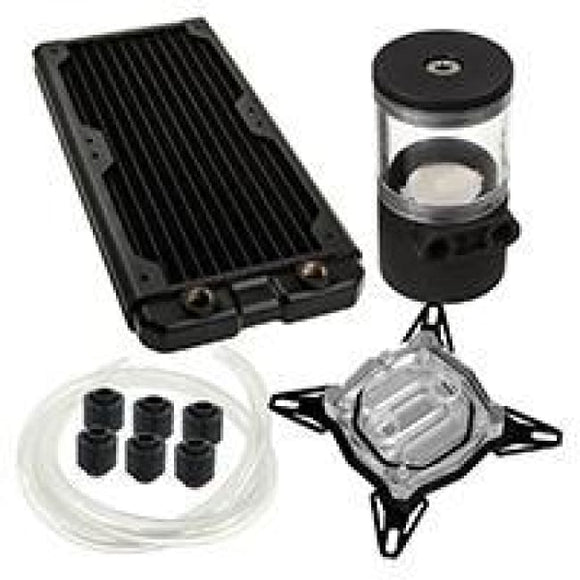 Black Ice 240Gts Professional Water Cooling Kit For Intel