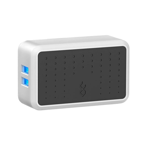 Blueflame 2 Device Usb Wall Charger (4.8A/24 Watts) With 2 Usb Ports