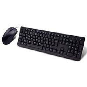 Builder Spanish Usb Keyboard & Mouse Combo Set Black