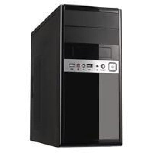 Cit 1016 Gloss Black/silver Micro Atx Case 500W Psu
