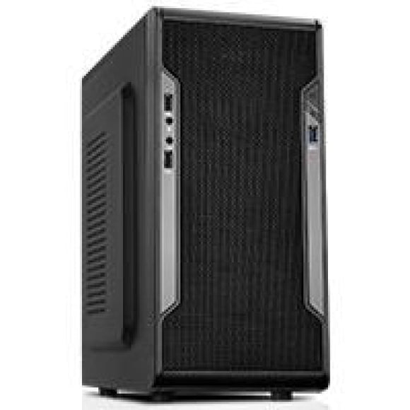Cit Barricade Mesh Gaming Case Usb3 Black Interior Mesh Front