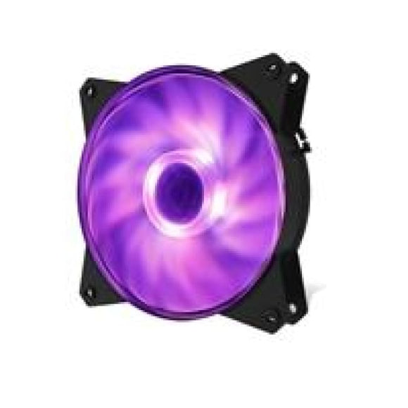 Cooler Master Masterfan Mf121L Rgb 120Mm 1200Rpm Rgb Led Case Fan