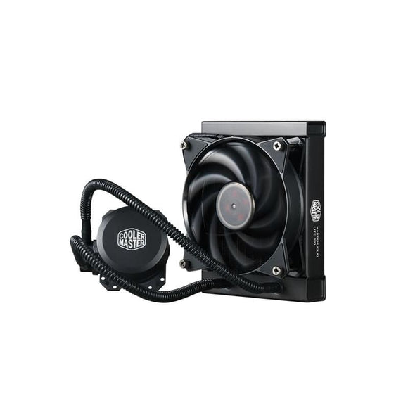 Cooler Master Masterliquid Lite 120 Aio Universal Socket 120Mm Pwm 2000Rpm Fan Liquid Cpu Cooler - Water Cooling System