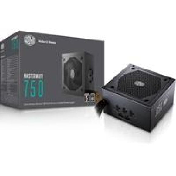 Cooler Master Masterwatt 750W 120Mm Semi-Fanless Mode Silencio Fan 80 Plus Bronze Semi Modular Psu