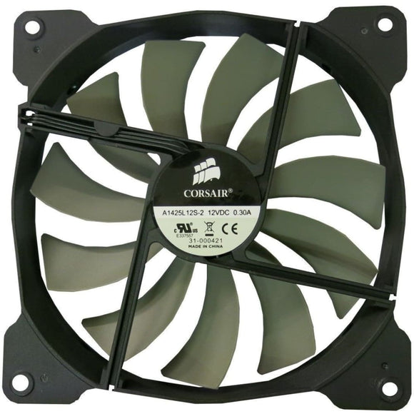 Corsair 12Cm 120Mm Black Grey Fins Fan Oem - Case Fan