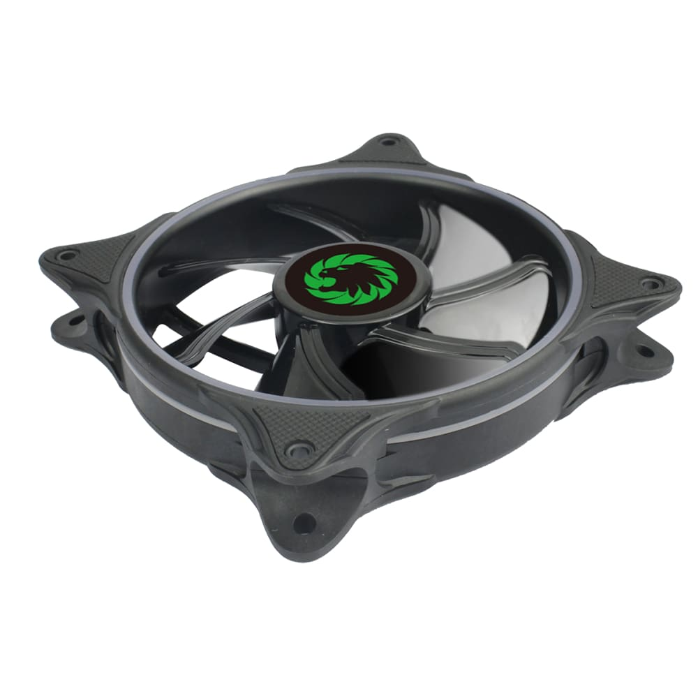 Cyclone Dual Ring PC Fan RGB Fan 4 pin Header 3 Pin Power