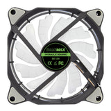 Eclipse Rgb 12Cm Pc Cooling Fan Led & Ring Lighting 7 Colours 3 / 4 Pin - Case Fan