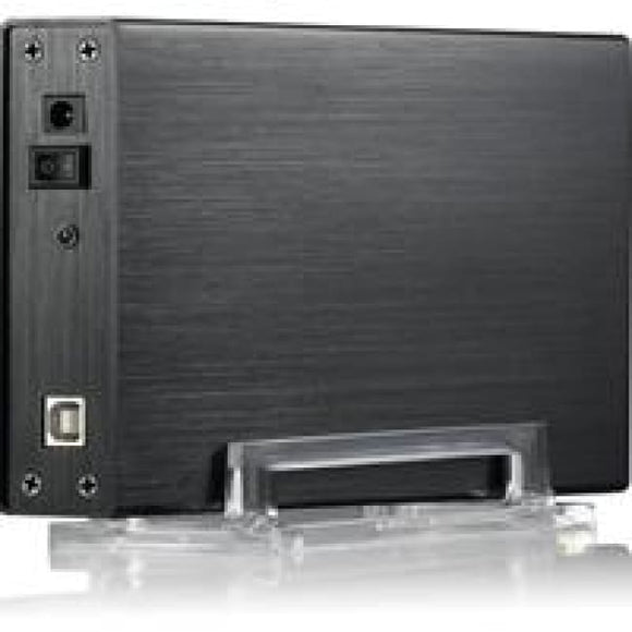 Evo E-U35Fs 3.5 Sata Usb 2.0 Slim External Hard Drive Enclosure Black Colour