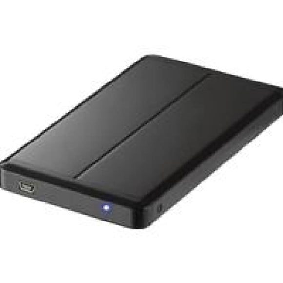 Evo Labs E-U25Bs 2.5 Sata/usb 2.0 Slim External Had Drive Enclosure Black