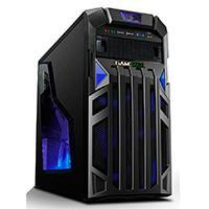 Game Max Centurion Gaming Case With Front & Rear Blue Led Fans 1X Usb3