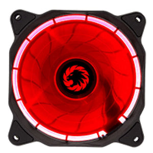 Game Max Eclipse Red Ring Led 12Cm Cooling Fan With Hydraulic Bearings