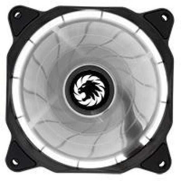 Game Max Eclipse White Ring Led 12Cm Cooling Fan With Hydraulic Bearings