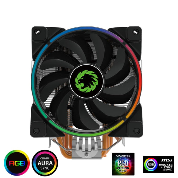 Game Max Gamma Cpu Heatsink And Rgb Fan Cooling Processor - Intel / Am4 - Cpu Cooler