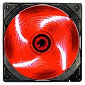 Game Max Sirocco 4 X Red Led 12Cm Cooling Fan
