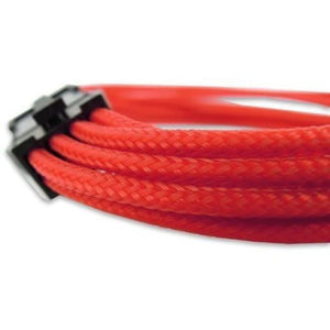 Gelid Red 45Cm Eps 8-Pin Extension Sleeved Braided - Sleeved Cable