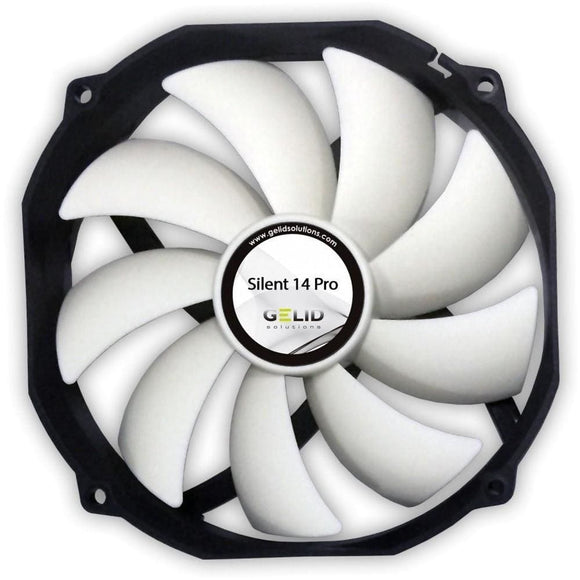 Gelid Solutions Silent 14 Pro Pwm 140Mm Quiet Case Fan - Case Fan