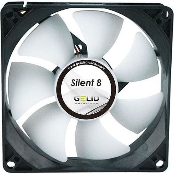 Gelid Solutions Silent 8 80Mm Quiet Case Fan - Case Fan