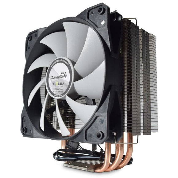 Gelid Solutions Tranquillo Rev.4 Quiet Cpu Cooler With Pwm Fan - Cpu Cooler